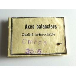 Omega, axe de balancier cal 35.5