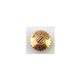 Omega, pink gold crown 5.70 mm