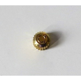 Omega, gold plated crown 3,72 mm