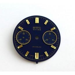 Cadran de chrono Valjoux diamètre 29,07 mm