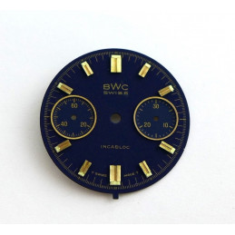 Valjoux chrono dial diameter 29,07 mm