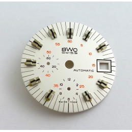 Cadran de chrono Valjoux diamètre 30,51 mm