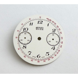 Cadran de chrono Valjoux, diamètre 29.55 mm