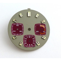 Cadran de chrono Valjoux, diamètre 29.10 mm