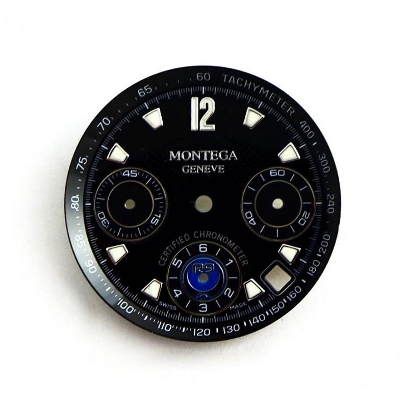 Valjoux chrono dial  diameter 29.55 mm