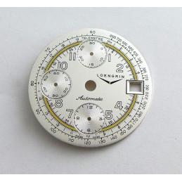 Valjoux chrono dial  diameter 29.50 mm