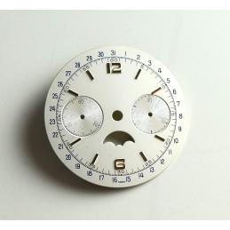 Cadran de chrono Valjoux, diamètre 33.50 mm