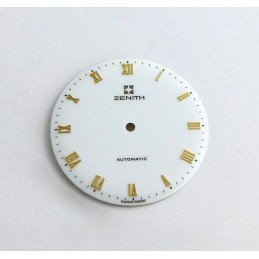 Cadran Zenith laqué blanc - 29mm
