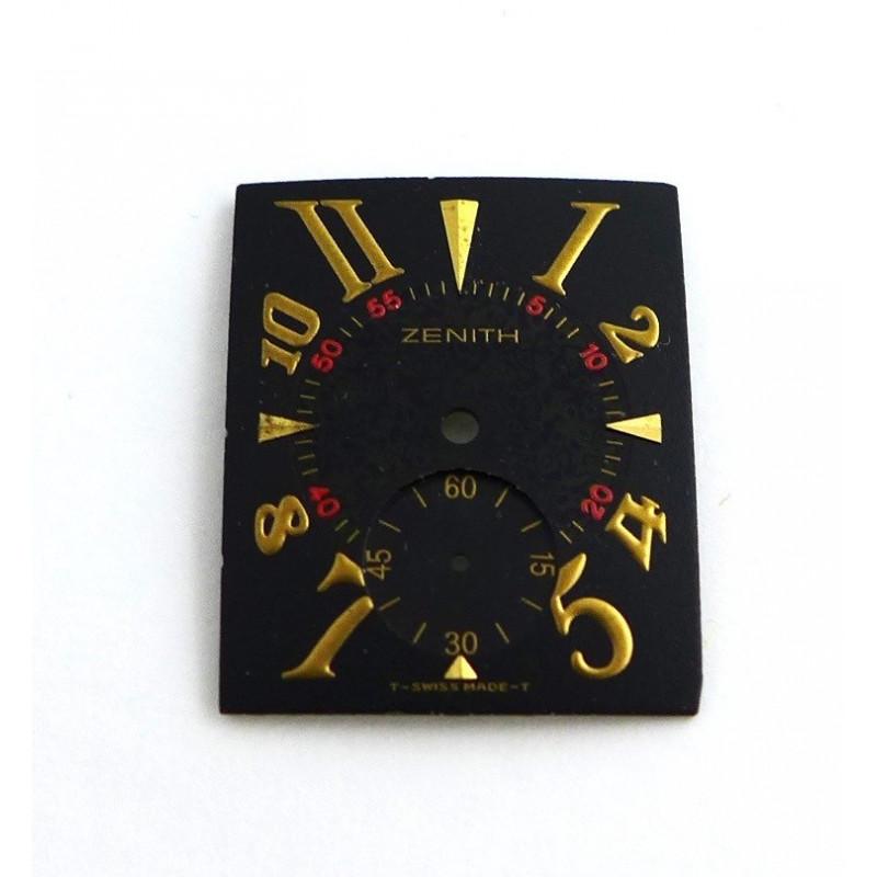 cadran ZENITH port royal noir 26,04 x 21,04