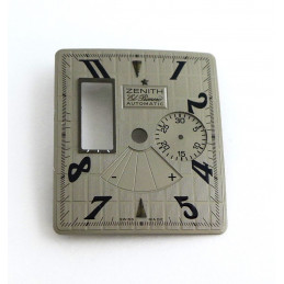 ZENITH El Primero Port Royal checkerboard grey dial