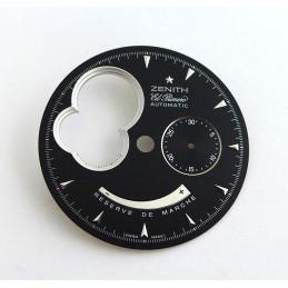 ZENITH El Primero Chronomaster round black dial 31mm
