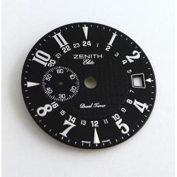 Cadran rond noir ZENITH Elite 31mm