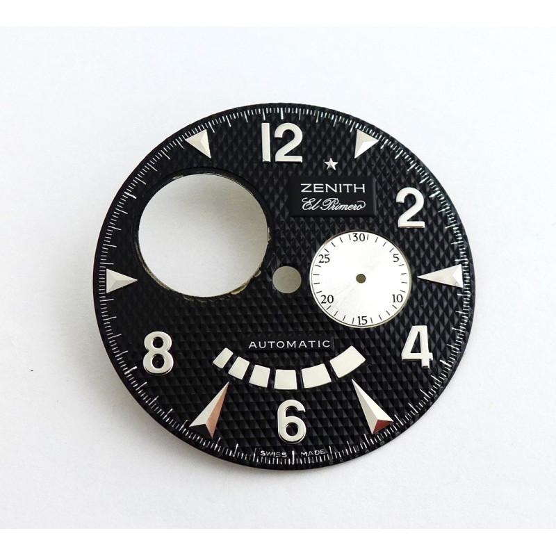 Cadran noir ZENITH El Primero 35mm