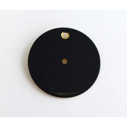 ZENITH Black dial 25mm