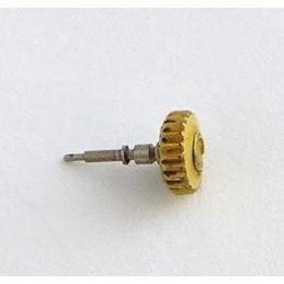 Omega, couronne plaquée or avec tige de remontoir 3,80 mm