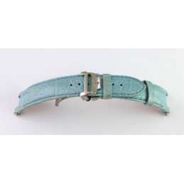 Baume et Mercier croco strap with folding buckle