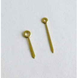 Aiguilles Cartier dorée pour cal  81 VLC femme