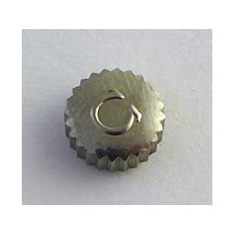 Omega couronne acier 6,70 mm épaisseur 3,29 mm