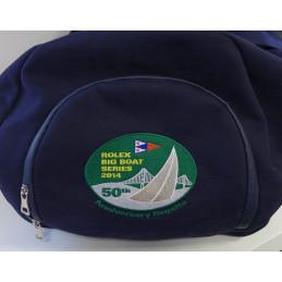 Rolex, dark blue travel bag