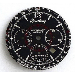 Breitling Montbrillant automatic dial