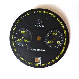 Cadran YEMA Sous marine 2 compteurs et date