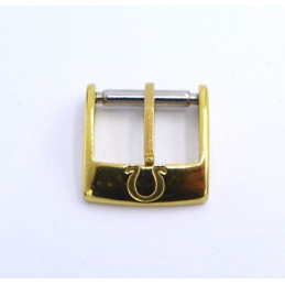Omega, gold plated buckle - 12 mm