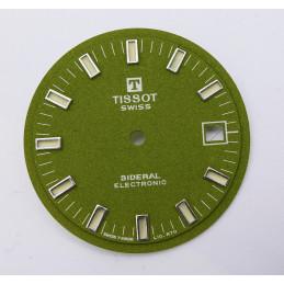 cadran Tissot SIDERAL Electronic