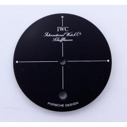 IWC Shaffhausen Porsche Design 30,45mm dial