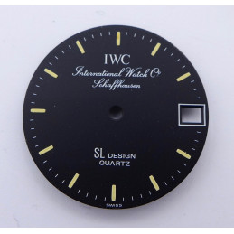 IWC Shaffhausen Porsche Design 26,97 mm dial
