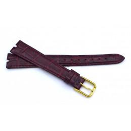 Tissot, bracelet en cuir 14 mm