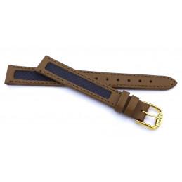 Tissot, bracelet femme croco 12 mm