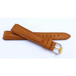 Tissot, woman leather strap 15  mm