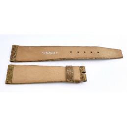 Tissot, leather strap 19 mm