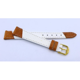 Tissot, woman leather strap 13  mm