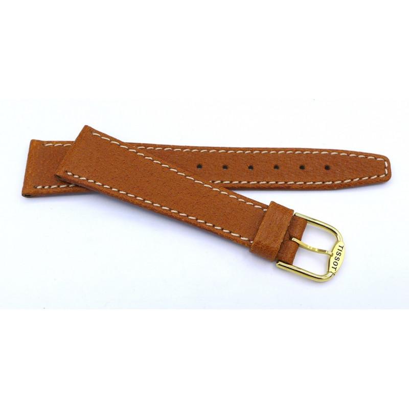 TISSOT leather strap 19 mm
