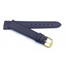 TISSOT Leather  strap 18 mm