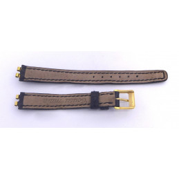 Omega croco strap with golden buckle