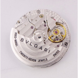 BULGARI automatic slim movement cal 3002 MBBL