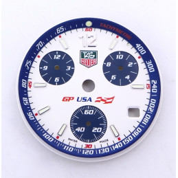 Tag Heuer GP USA dial