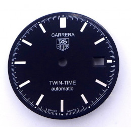 Tag Heuer Carrera Twin Time Automatic dial