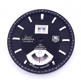 Tag Heuer Grand Carrera GMT automatic Chronometer dial