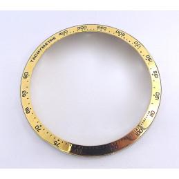Tag Heuer Carrera lunette acier dorée