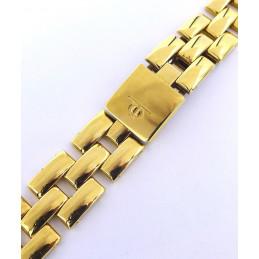 Bracelet plaqué or Baume et Mercier Linea