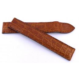 Cartier croco  strap 16 mm