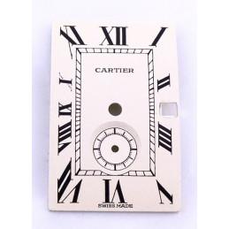 Cartier Tank dial