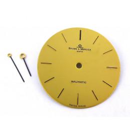 Baume et Mercier Baumatic dial with hands