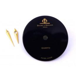 Cadran Baume et Mercier quartz avec aiguilles