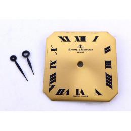 Baume et Mercier dial with hands