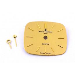 Baume et Mercier quartz dial with hands