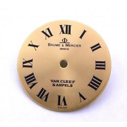 Baume et Mercier  Van Clef & Arpels dial